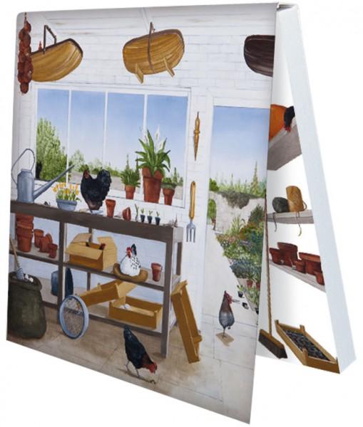 Klebezettel 'Gartenfreude 2' von Rebecca Campbell