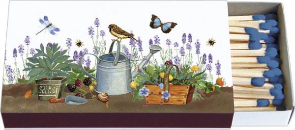 Zündholz-Schachteln 'Gartenwelt'