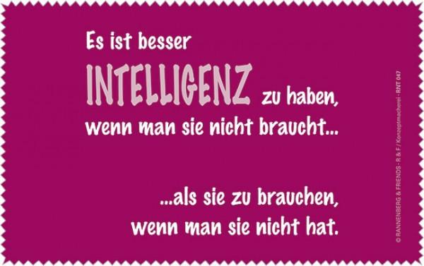 Netbooktuch 'Intelligenz'