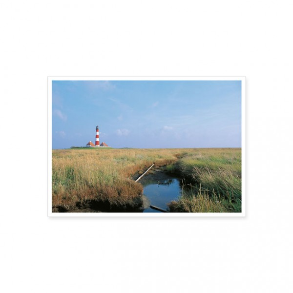 "Postkarte ""Leuchtturm Westerhever"""