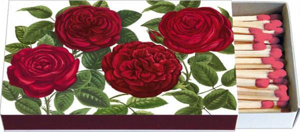 """Zündhölzer """"Rote Rosen"""""""