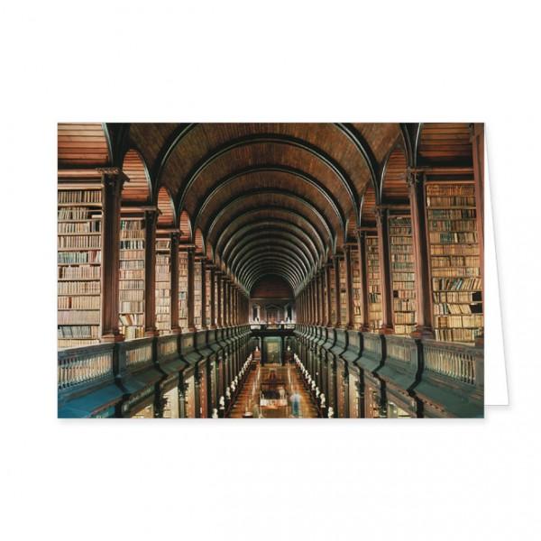 "Doppelkarte ""Trinity College, Dublin"""
