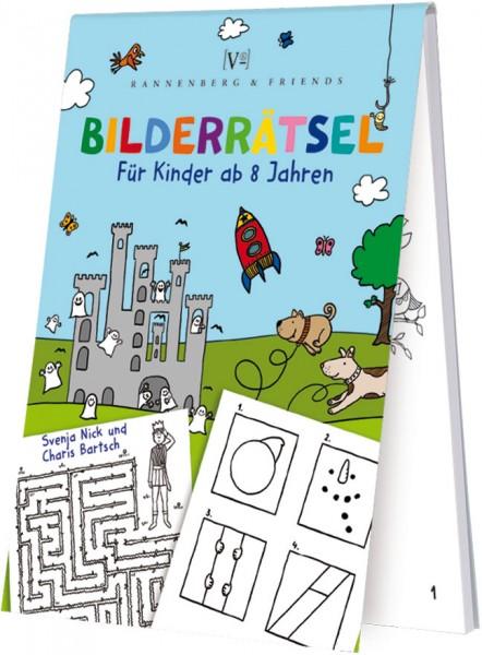 Spieleblöckchen 'Kinderbilderrätsel'