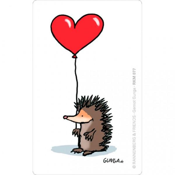 Magnete 'Igel mit Herz'
