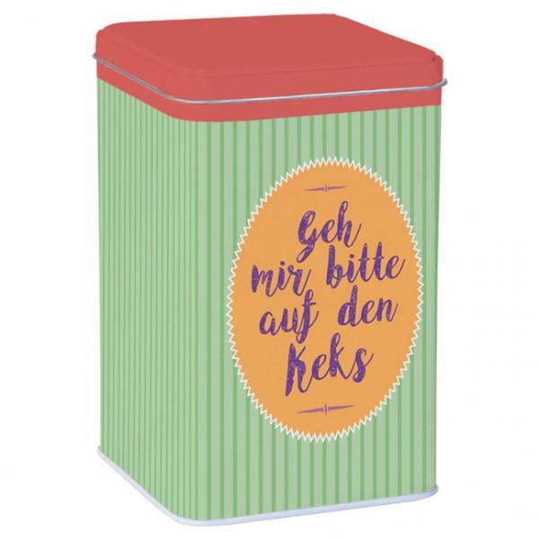 Blechdose 'Auf den Keks'
