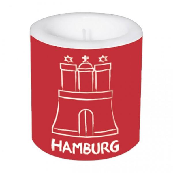 Lampionkerze 'Hamburg'