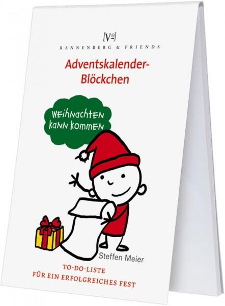 Adventskalenderblöckchen 'To-Do-Liste für ein erfolgreiches Fest' von Steffen Meier -RSBW 024