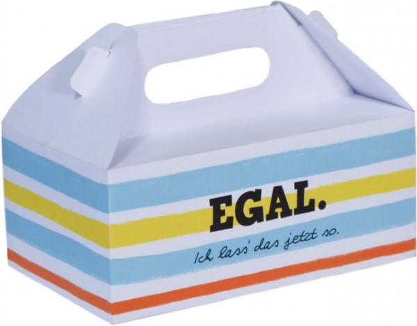 Die Schachtel 'Egal'