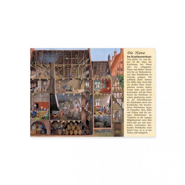 """Postkarte """"im kaufmannshaus"""""""