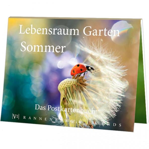 """Postkartenbuch """"Lebensraum Garten - Sommer"""""""