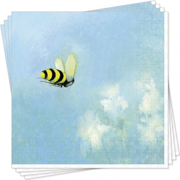 Serviette Die Biene