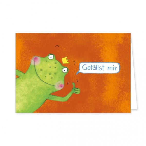"Doppelkarte ""Gefällst mir"""