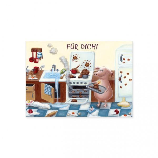 Postkarte Happy Birthday Kuchen Postkarte Geburtstag Anlasse