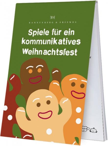 """X-Mas """"Spiele für ein kommunikatives Weihnachtsfest"""""""