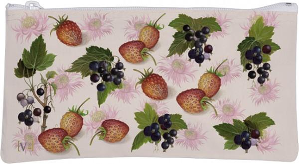 Etuitasche 'Erdbeeren und Johannisbeeren'
