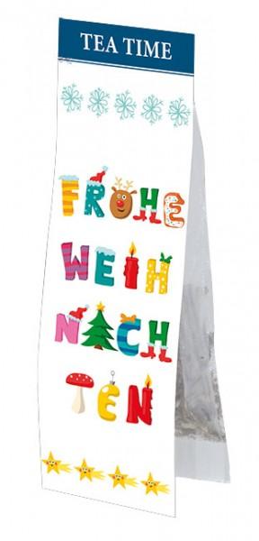 "X-mas Tea Time ""Frohe Weihnachten"""
