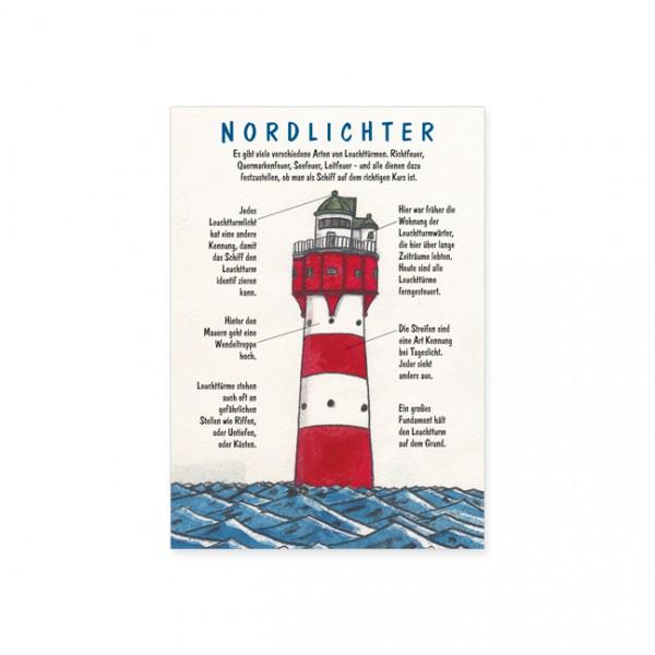 "Postkarte ""Nordlichter"""