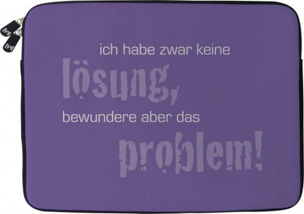 Laptoptaschen 10'' 'Lösung und Problem'