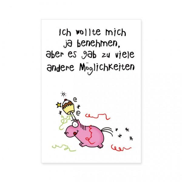 """Postkarten Large """"Andere Möglichkeiten"""""""