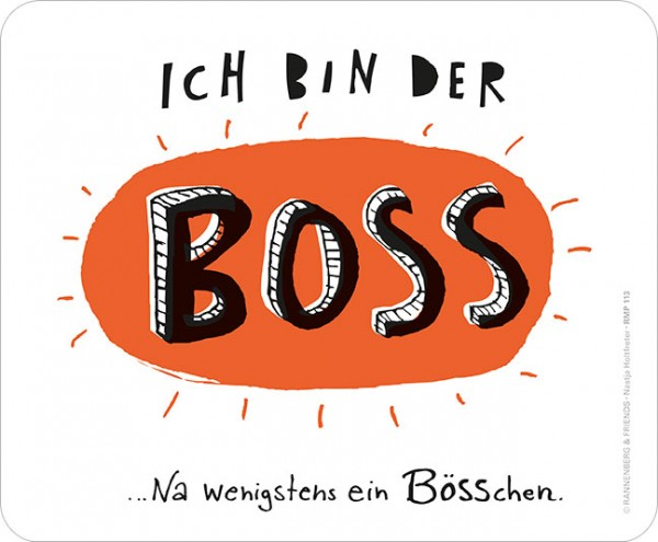 Maus-Pad 'Bösschen'