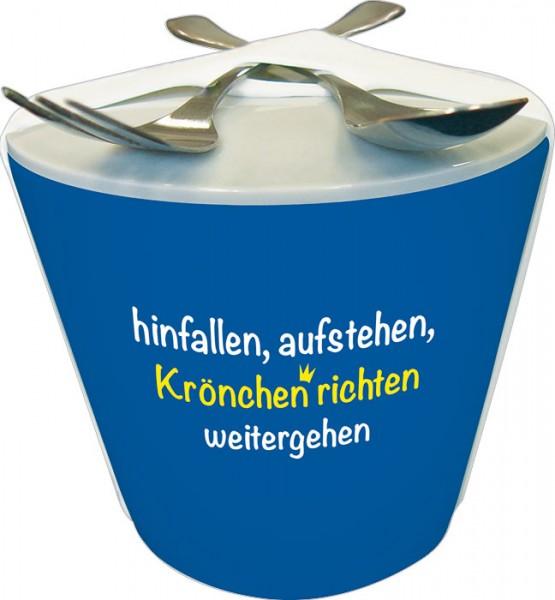 """Snack to go """"Krönchen richten"""""""