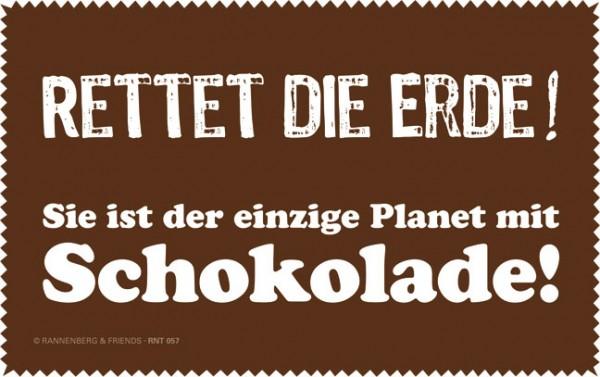 Netbooktuch 'Rettet die Erde'