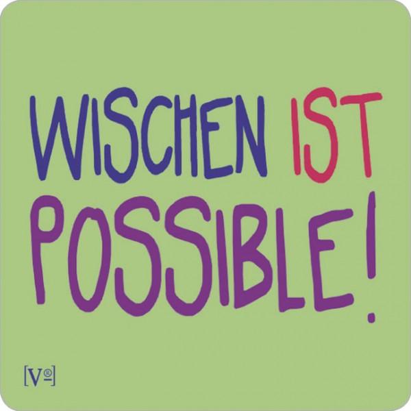 Handy-Putzi Large 'Wischen ist possible'