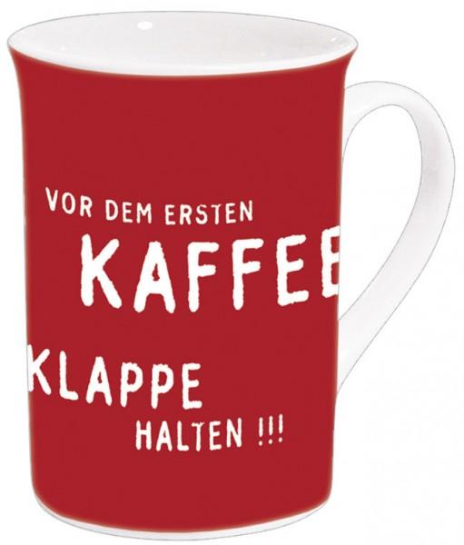 Becher 'Vor dem ersten Kaffee'