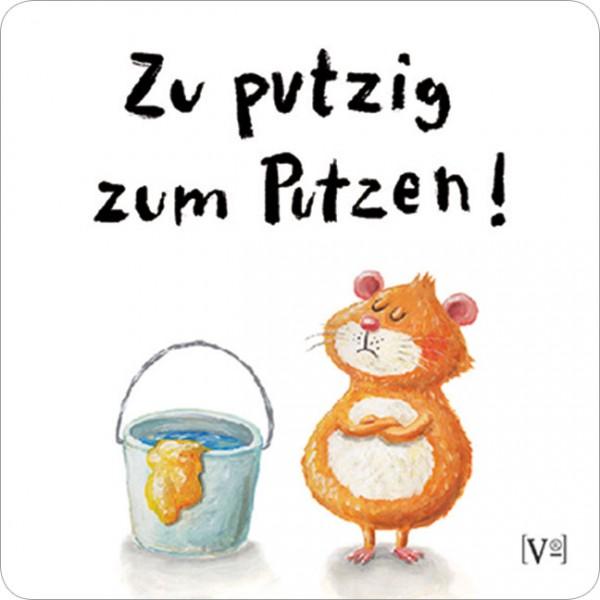 Handy-Putzi Large 'Zu putzig'