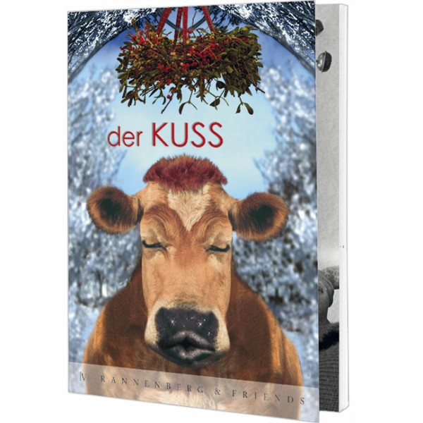 """Postkartenbuch """"Der Kuss"""""""