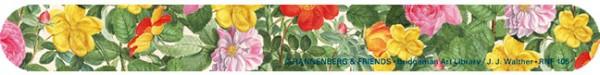 Nagelfeile 'Rosen aus dem Nassau Florilegium'