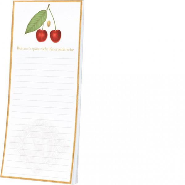 Kühlschrankblöckchen 'Pomologie der Kirschen'