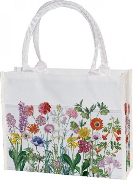Einkaufstasche 'Blumen aus dem Nassau Florilegium'