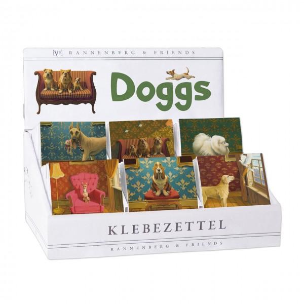 """Display """"Klebezettel"""" Doggs"""