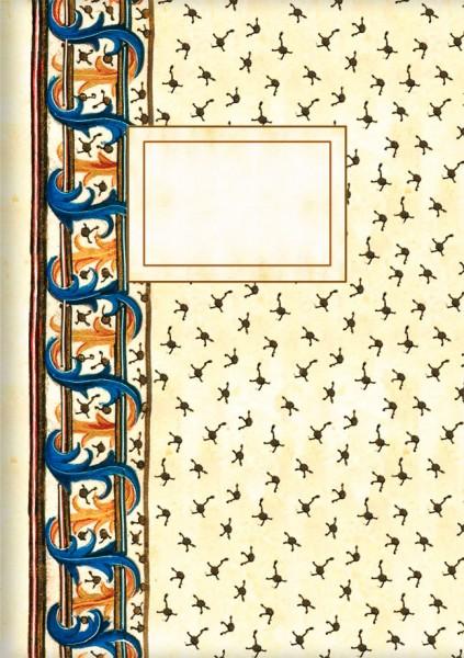 Kladden A5 'David und Bathsheba, Detail'