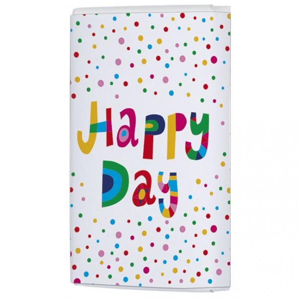 Schokoladentäfelchen 'Happy Day'