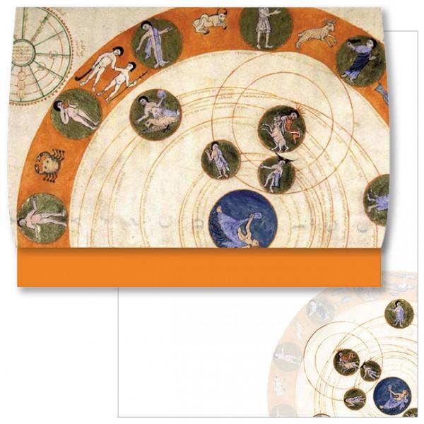 Schreib-Set 'Bewegung der Sternbilder'
