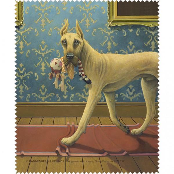 "Brillenputztuch ""Doggs-Bunte Hunde / A Danish Noir"""