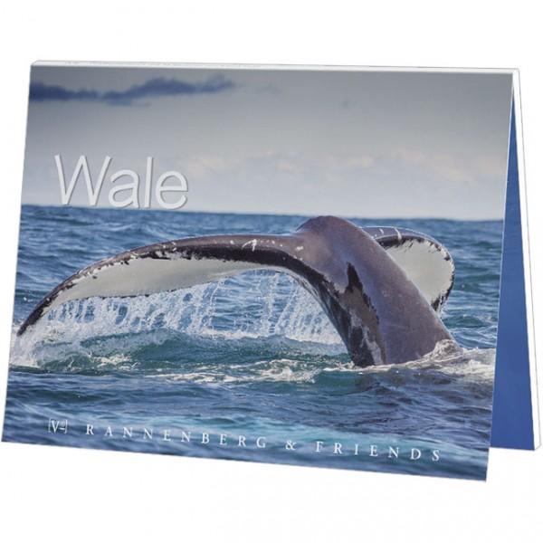 "Postkartenbuch ""Wale"""