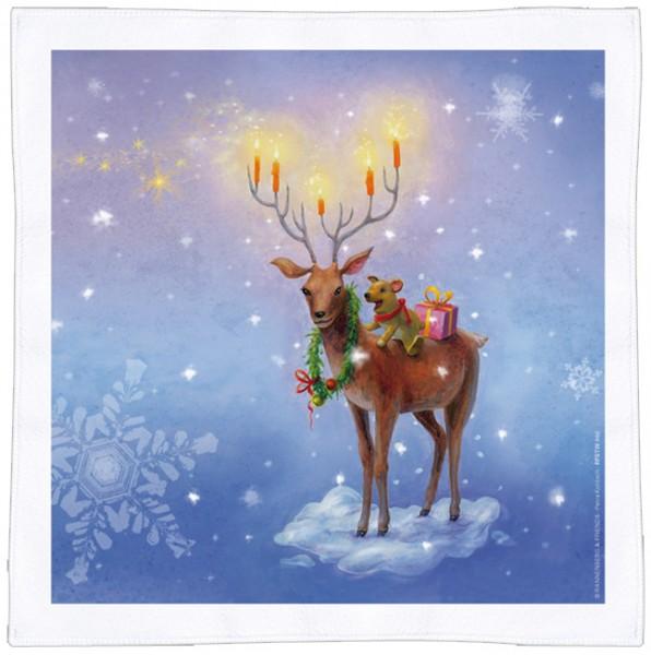 Spültuch Weihnachten 'Weihnachtshirsch'