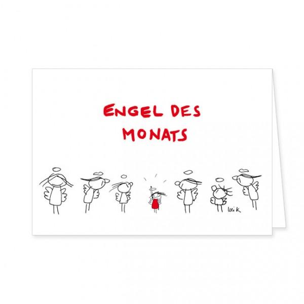 "Doppelkarte ""Engel des Monats"""