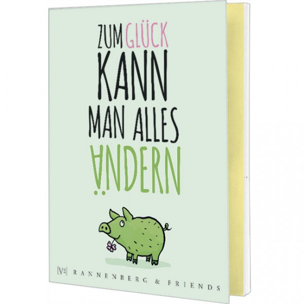 """Postkartenbuch """"Mit Herz und Augenzwinckern"""""""