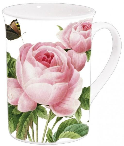 Becher 'Rosa centifolia'