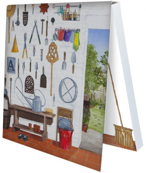 Klebezettel 'Gartenfreude 1' von Rebecca Campbell