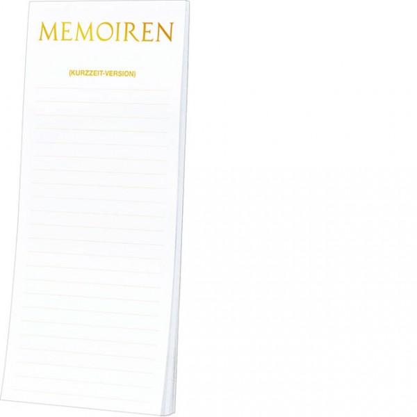 Kühlschrankblöckchen 'Memoiren'