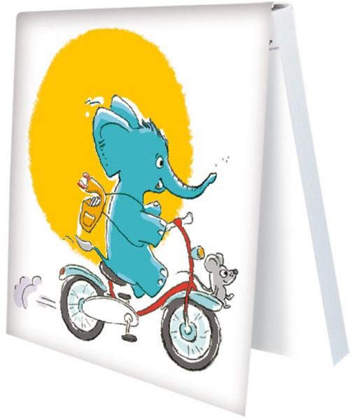 Klebezettel 'Tuppy's Klebezettel 4' von Judith Ganter
