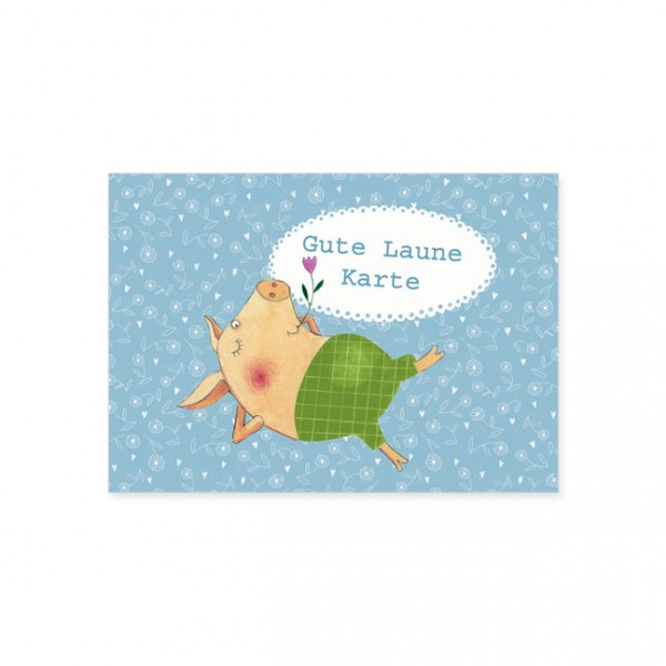 "Postkarte ""Gute Laune Karte"""