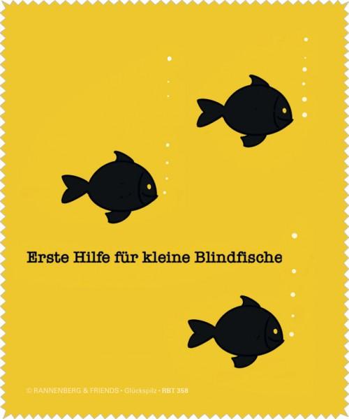 """Brillenputztuch """"Blindfische """""""