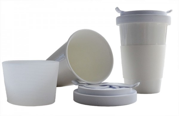 Cup-Blanche: Der einzige Coffee-To-Go Becher aus Fine Bone China