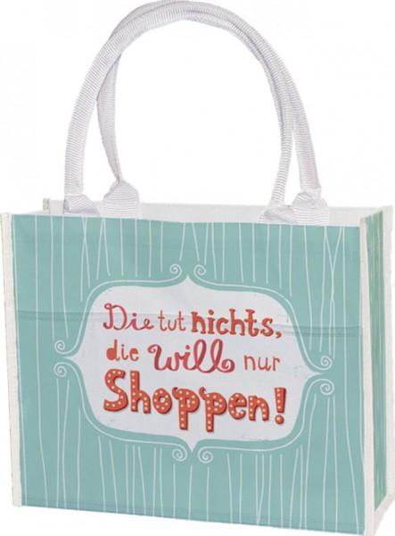 Einkaufstasche 'Die tut nichts' von Nastja Holtfreter